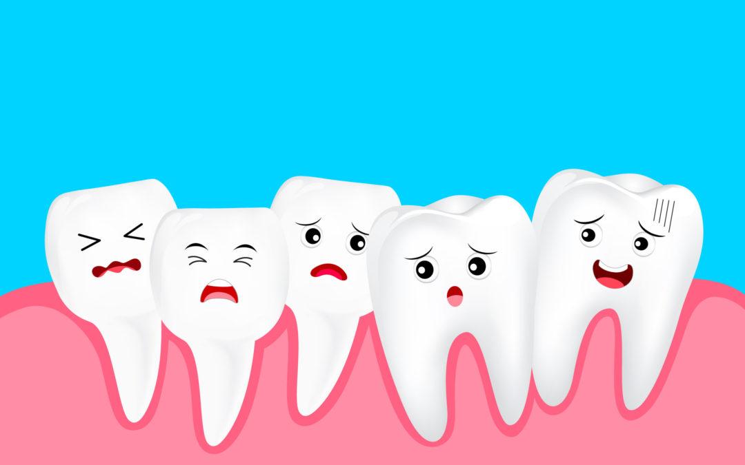 دندان های پر تراکم